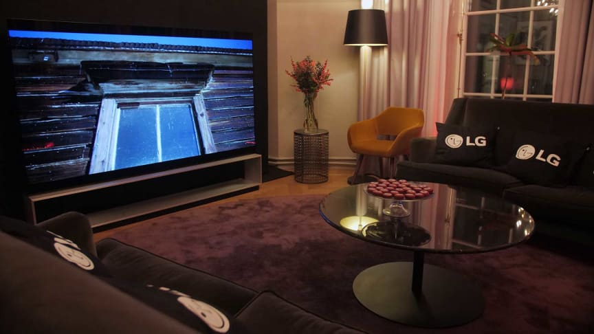 LG Electronics OLED-TV med äkta 8K-upplösning äntligen i Sverige
