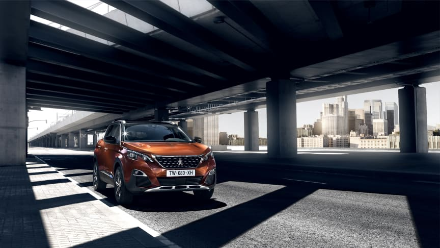 Rekordår för Peugeot, bland annat tack vare Peugeot 3008 SUV, i Sverige.