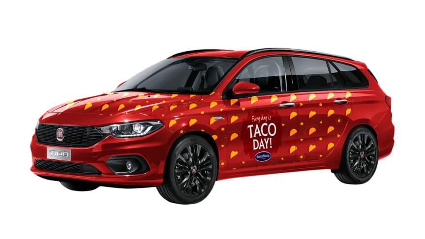 Jaga tacos och vinn en bil!