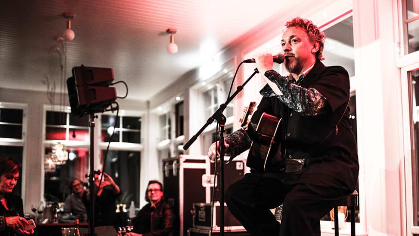 Sveriges soul-kung Eric Gadd är en av artisterna på årets SDG Live! Xmas Edition. Foto: Elin Bryngelson