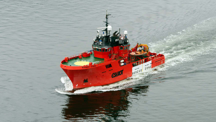 'Esvagt Cobra' has been chartered to support the Kittiwake field in the UK sector from the middle of October.