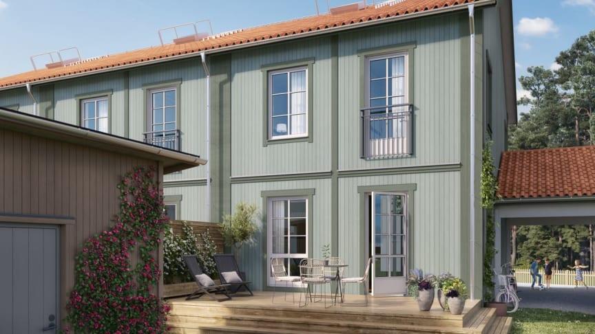 OBOS utvecklar Tahe– bygger radhus, kedjehus, lägenheter och villor