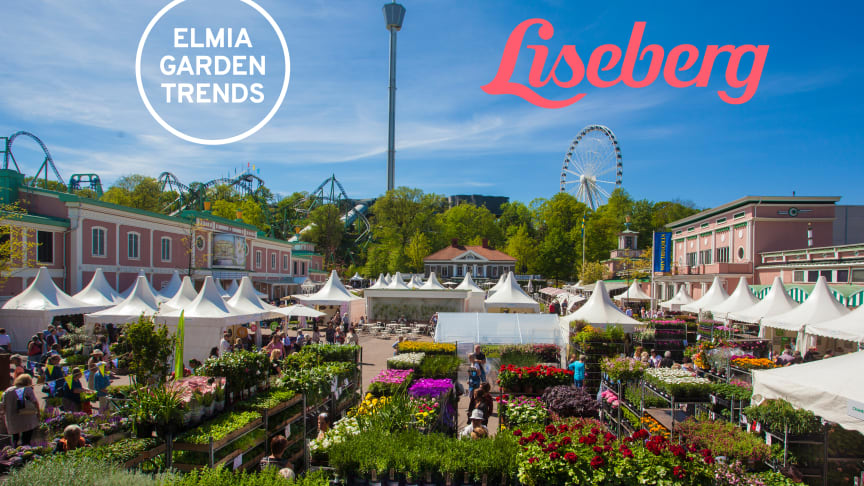 Elmia Garden Trends 2018 will be presented to the general public at Liseberg's Garden Days from 17-20 May.  Photo: Liseberg