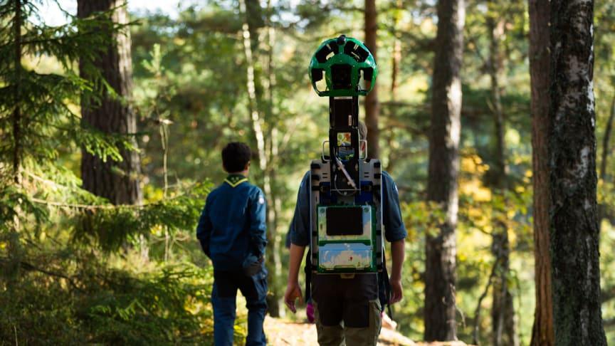 Scouterna och Google lyfter naturturismen i Borås
