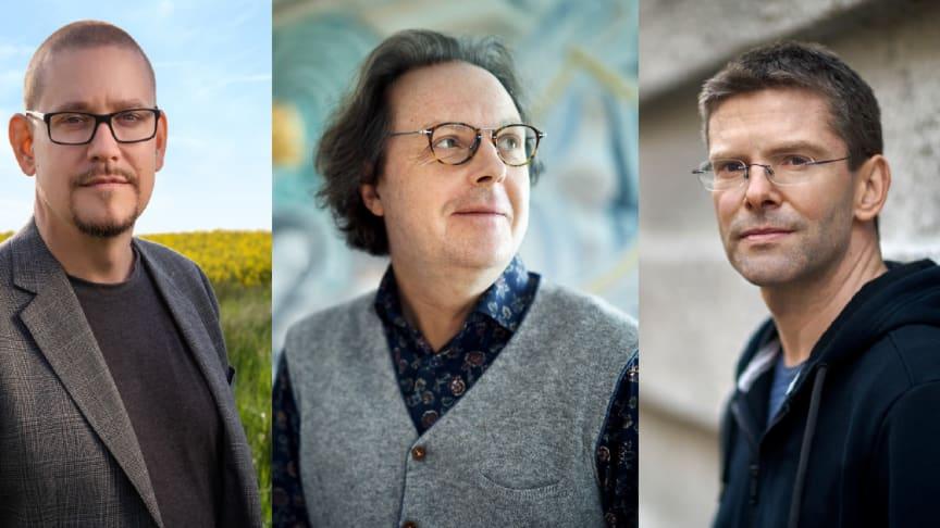 Tobias Broström (Foto: Nicklas Raab) Tommie Haglund och Albert Schnelzer (Foto: Mats Lundqvist)