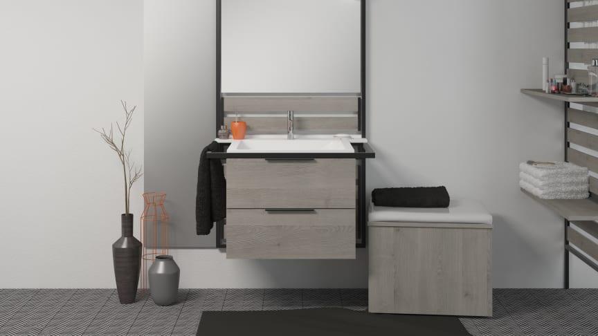 Vom Single über die junge Familie, vom kleinen Haushalt bis zum größeren Bad eines älteren Paares bietet burgbad Flex individuelle Lösungen in unterschiedlicher stilistischer Prägung.