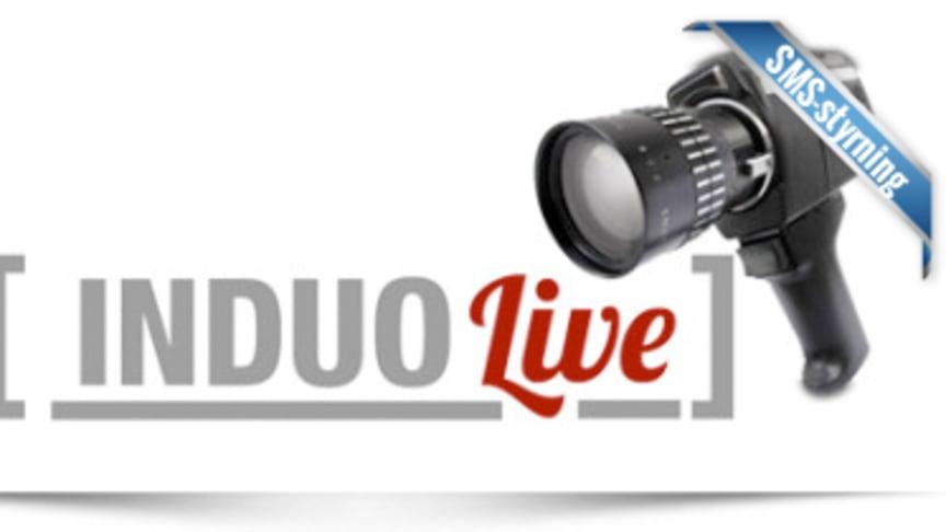 Fjärrstyrningspaket för SMS -direktsänt med Induo Live