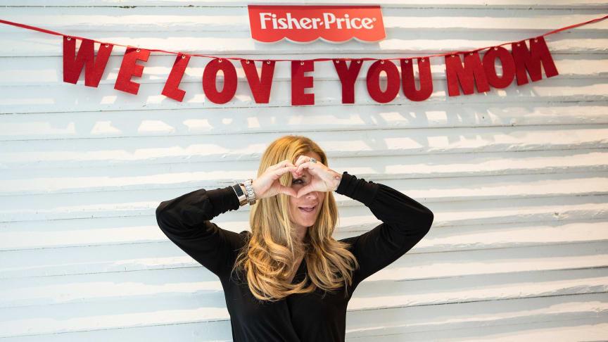 Charlotte Würdig beim 4. Fisher-Price Elternbrunch in Hamburg