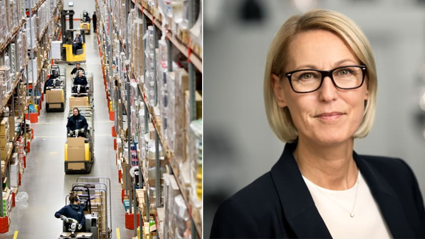 Liv Forhaug, koncernchef Martin & Servera Gruppen (bildmontage Martin & Servera)