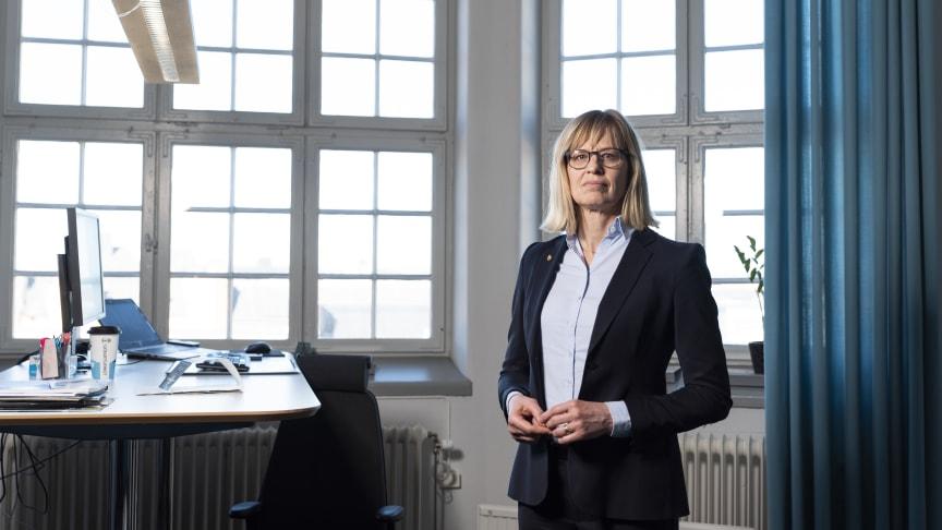 Sjöfartsverkets generaldirektör Katarina Norén | Fotograf - Niclas Fasth / Sjöfartsverket