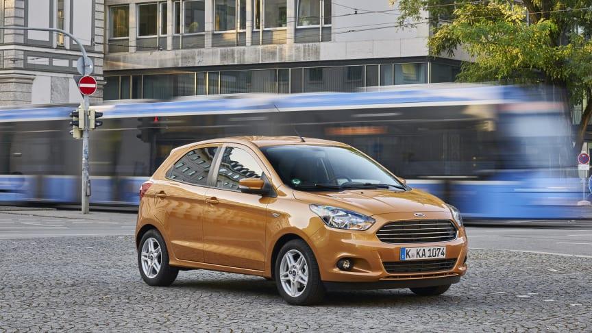 Nye Ford KA+: Mye bil for pengene!