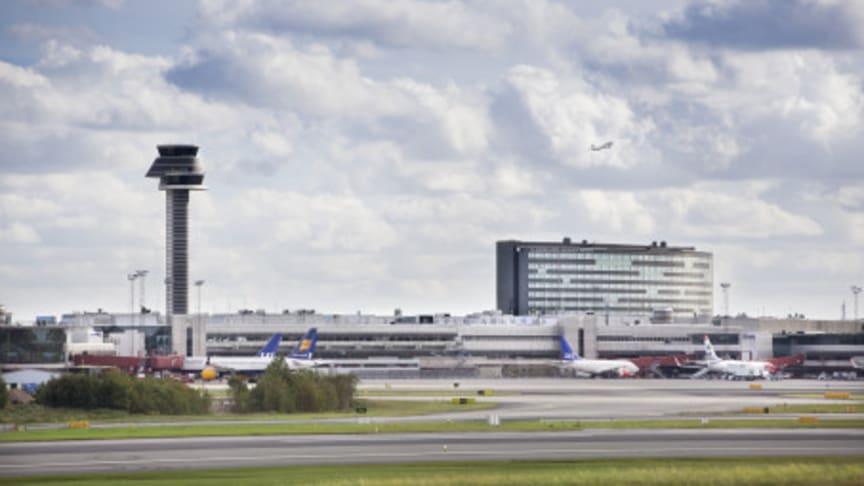 Rekordmånga resenärer på Arlanda, Airport City Stockholm