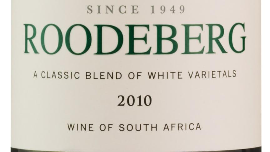 Ny årgång - Roodeberg White 2010