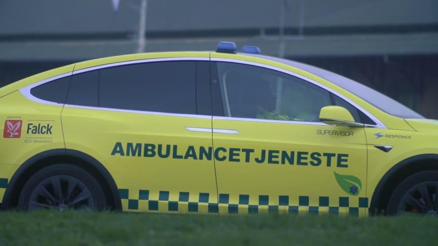 Falck launches unique electric ambulance