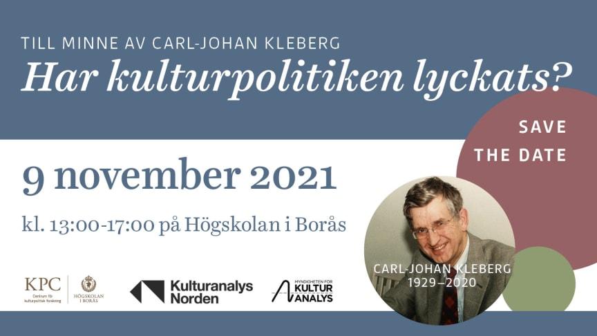 Seminarium: Har kulturpolitiken lyckats?