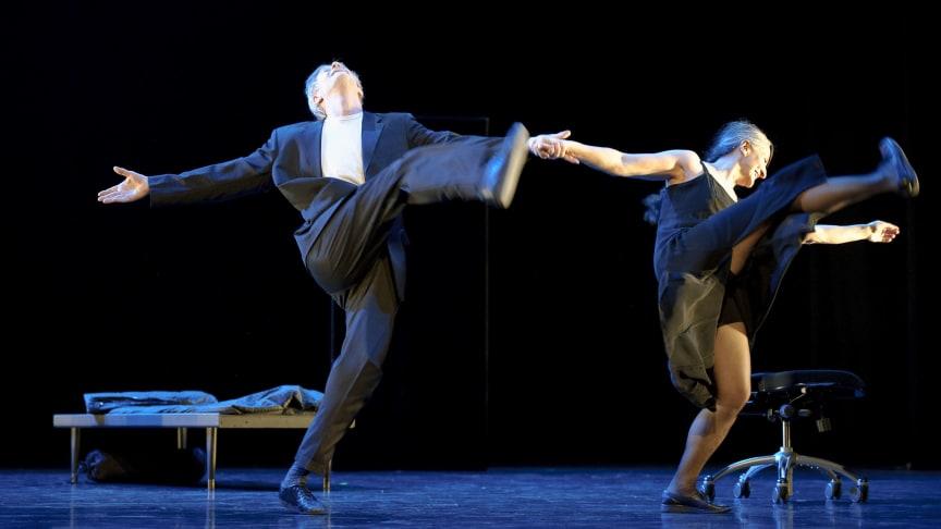 Mats Ek och Ana Laguna dansar på festival i Malmö
