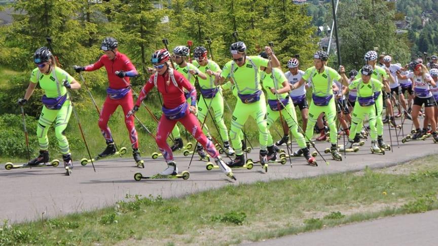 Se skiskyting i sommer!