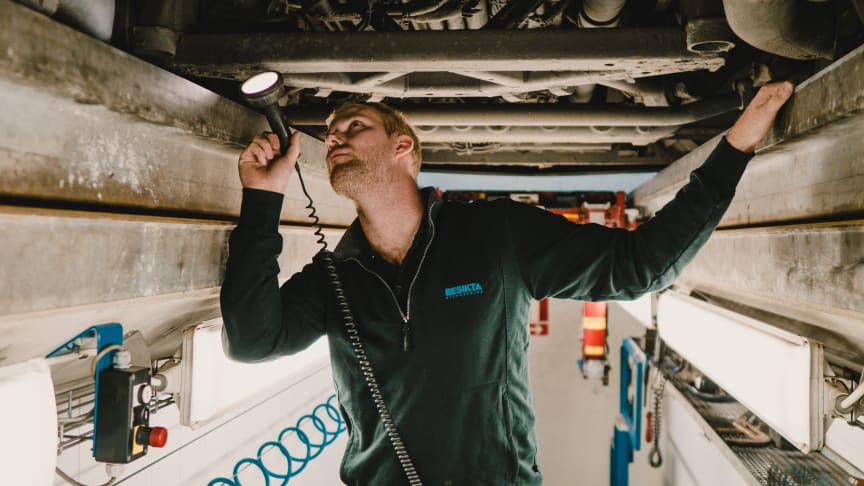 Besikta Bilprovning öppnar besiktningsstation för tunga fordon i Stockholmsområdet