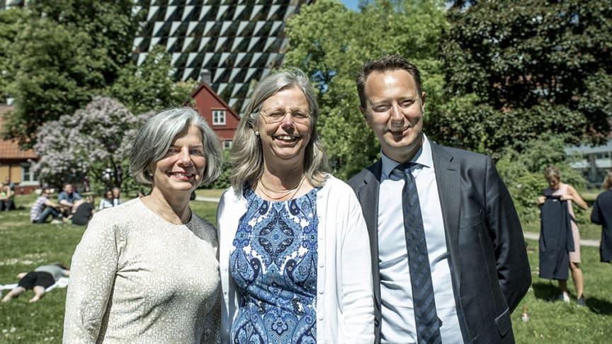 Dr. Julie Gerberding, Karin Dahlman Wright och Marc Gailhardou