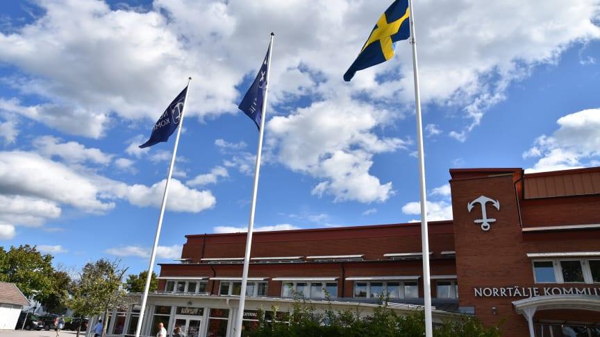 Pressträff om läget inför hösten i Norrtälje kommun med anledning av coronapandemin