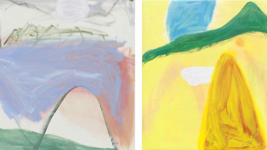 """Jongsuk Yoon, """"Future"""" (detalj), 2018, courtesy Galerie nächst St. Stephan Rosemarie Schwarzwälder. """"The Heat"""", 2019, privat samling."""