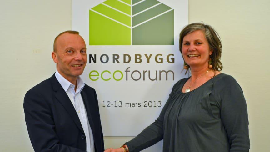 Nytt samarbete mellan Nordbygg och Svensk Byggtjänst: Nordbygg Ecoforum - ny mötesplats för hållbart byggande
