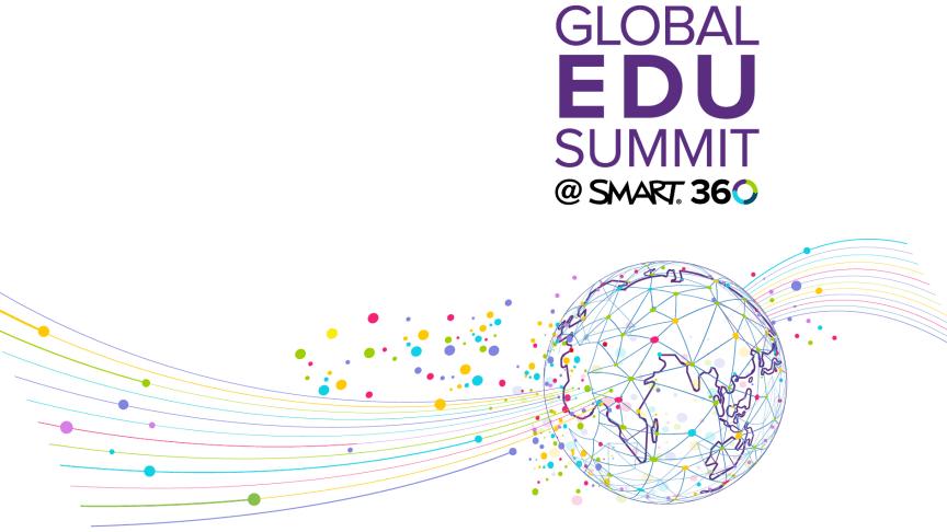 Inspireras av hur andra lärare jobbar med SMART på Global EDU Summit!