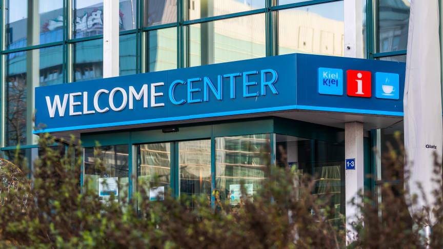 Welcome Center: Zentral gelegen und erste Anlaufstelle für Gäste und Einheimische