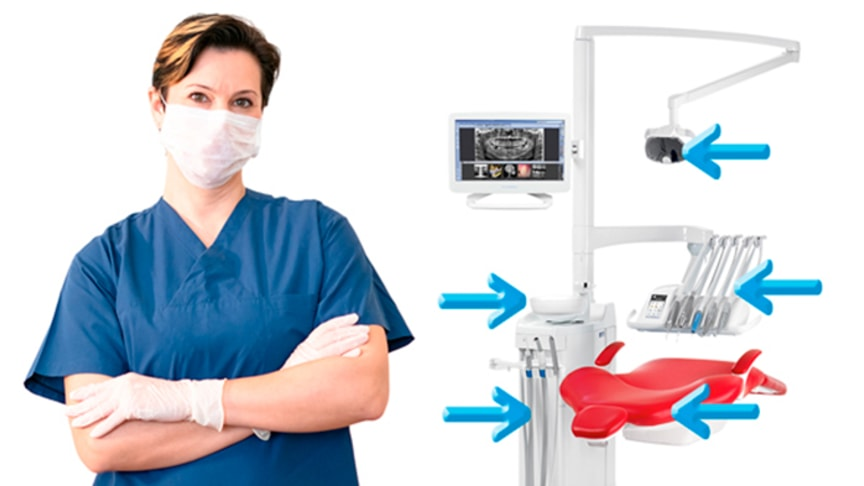 Update your Planmeca dental unit to enhance infection control