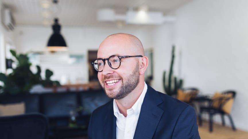 Linus Larsson, uppfinnare och CEO PulPac AB