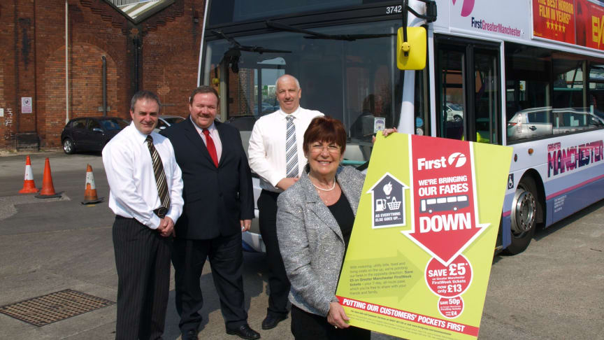 Bury Council welcomes reductions in First Bus fares