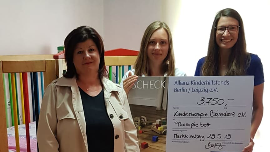 v.l.n.r.: Sandra John, Kristin Bartz und Ulrike Herkner