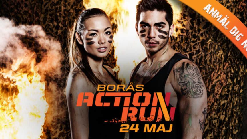 Borås Action Run 2014 - Sveriges enda hinderlopp i stadsmiljö!