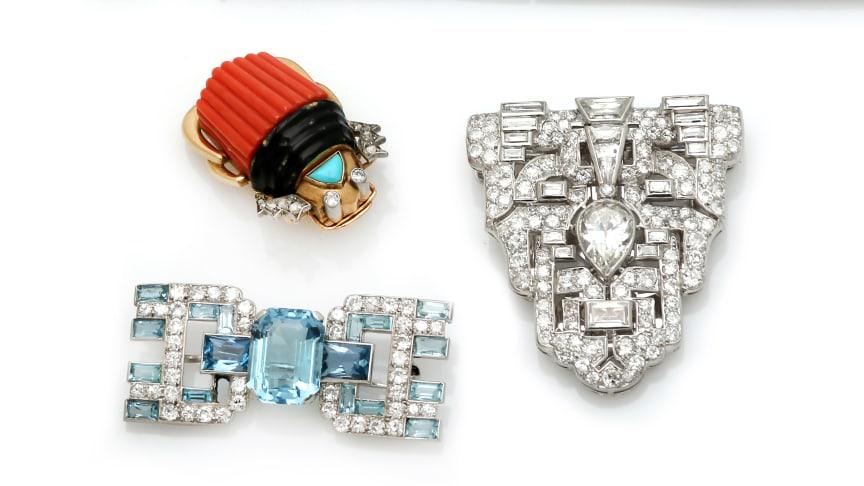 Cartier and Art Deco Jewellery in High Demand