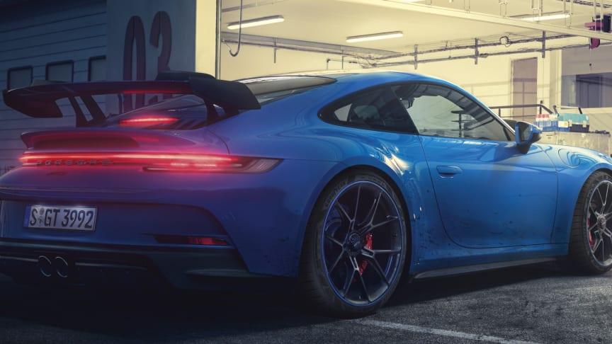Goodyear Eagle F1 SuperSport R valgt som originaludstyr til den nyeste 502 hp Porsche 911 GT3