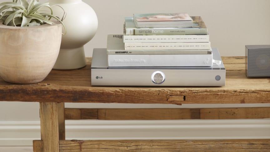 Modern design möter ljud i toppklass när LG lanserar nya hemmabiosystem