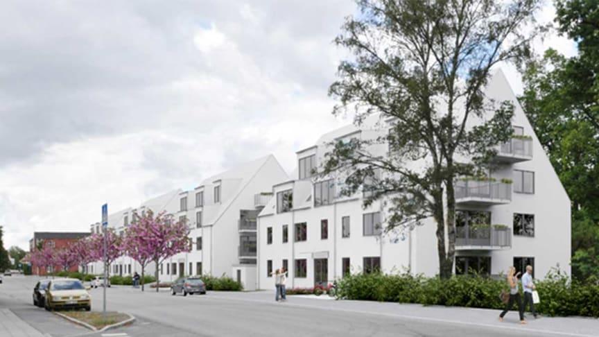 Samarbete mellan Riksbyggen och Bygg-Fast för fler hyresrätter