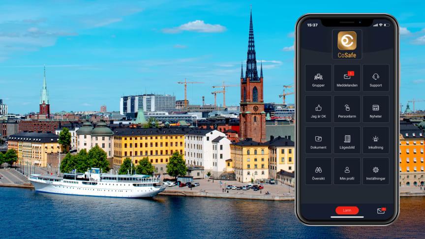 Arbetsmarknadsförvaltningen Stockholms stad väljer Cosafe för larm- incident- och krishantering