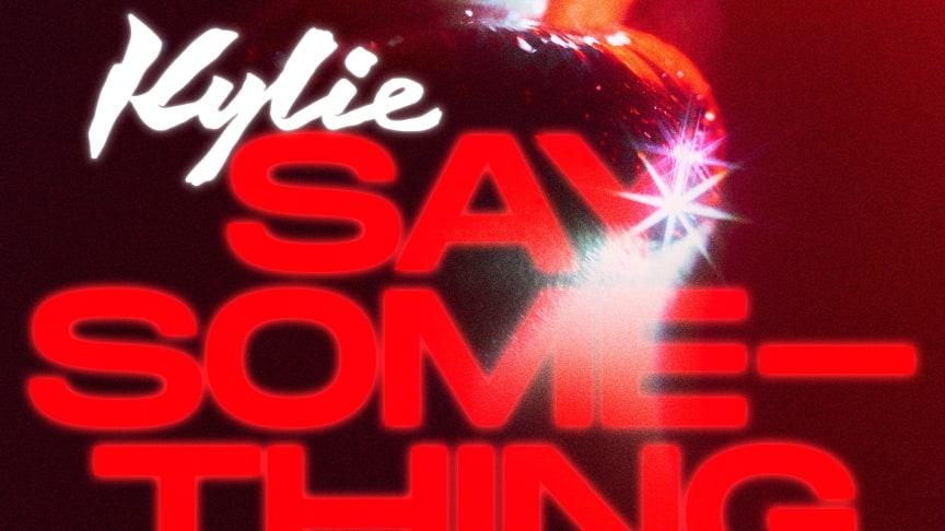 "Omslag - Kylie ""Say Something"""