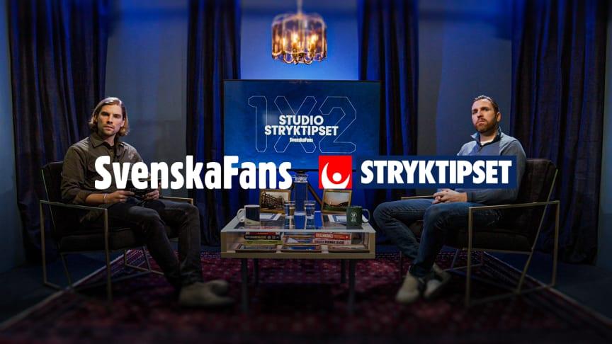 SvenskaFans lanserar ett nytt tv-magasin om engelsk fotboll tillsammans med Stryktipset