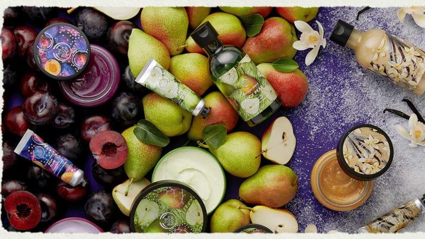 Möt julens nya dofter – Juicy Pear, Rich Plum & Warm Vanilla