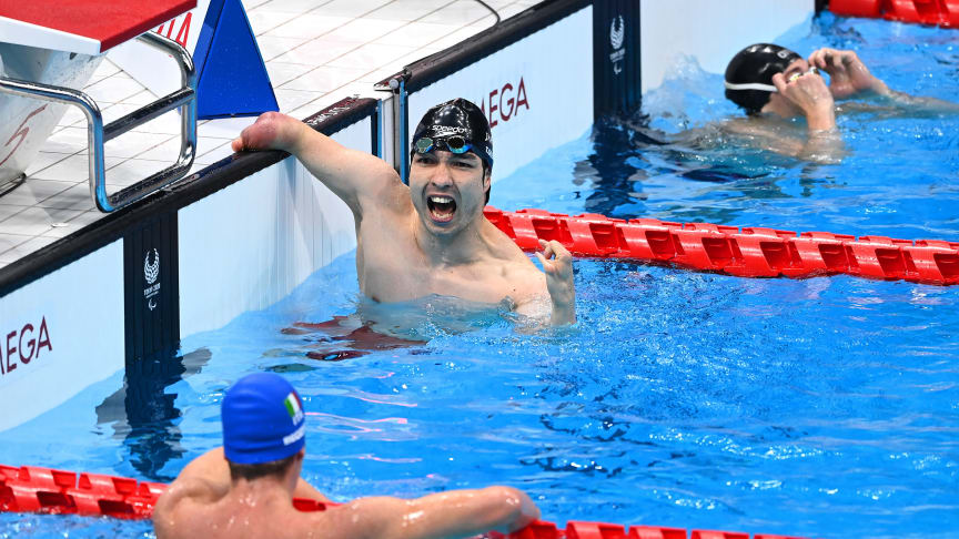 Taka Suzuki wins gold at the Paralympic Games in Tokyo