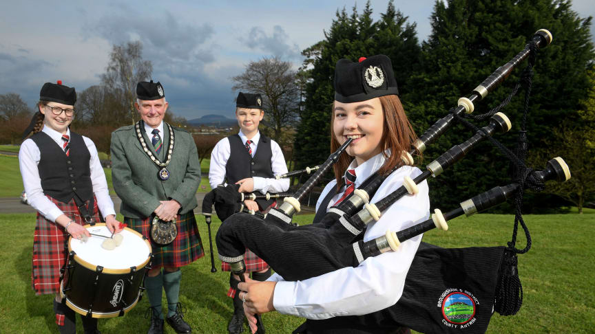 The All-Ireland Pipe Band Championships will take place on Saturday 6 July at 11am.
