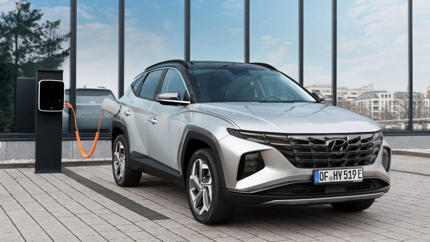 Helt nye Hyundai Tucson Plug-In Hybrid. Foto: Hyundai