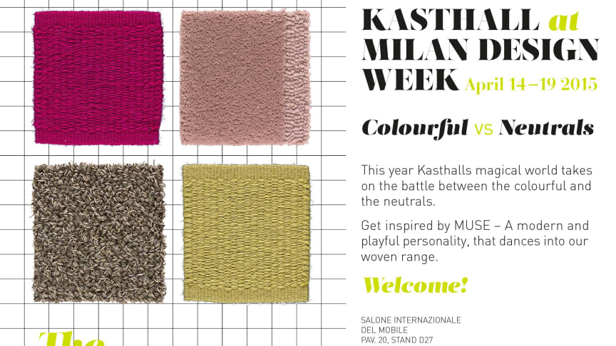 KASTHALL AT MILAN DESIGN WEEK