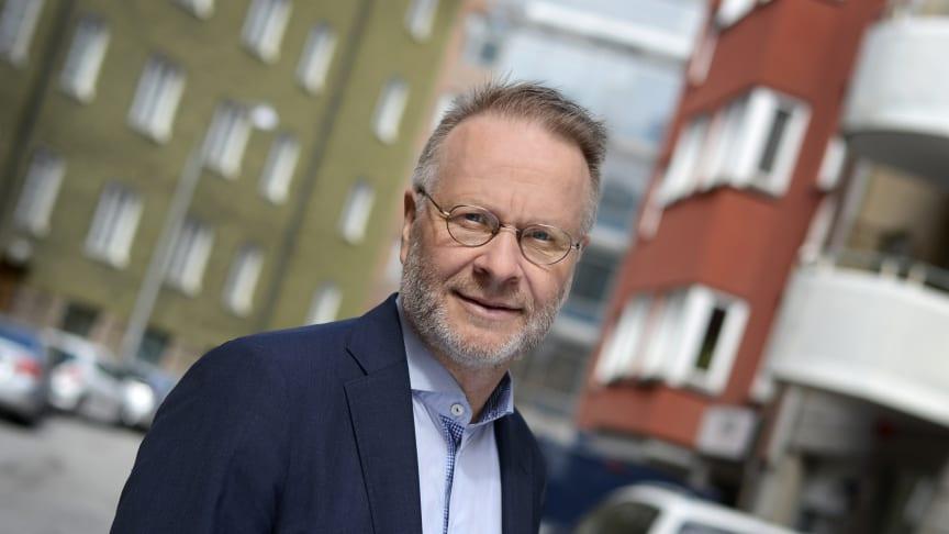 Björn Wellhagen, vd Mäklarsamfundet.