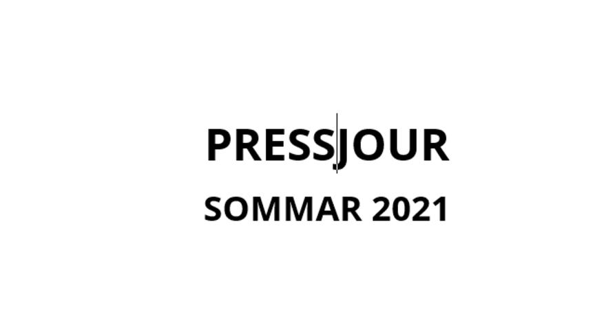 Ändrade nummer för pressjour sommaren 2021