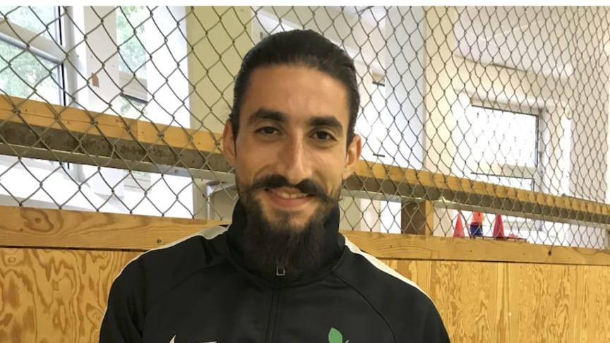 Amer Almahtar, hälsokoordinator, En Frisk Generation