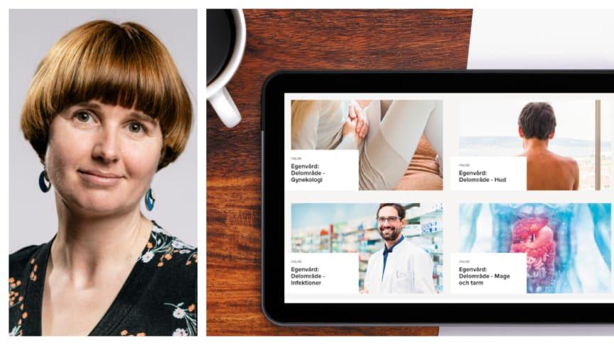 Läkemedelsakademin få fortsatt förtroende att utveckla och tillhandahålla e-utbildningar för nyanlända farmaceuter och tilldelas drygt en miljon kronor i främjandestöd. Hanna Rickberg är utbildningschef på Läkemedelsakademin.
