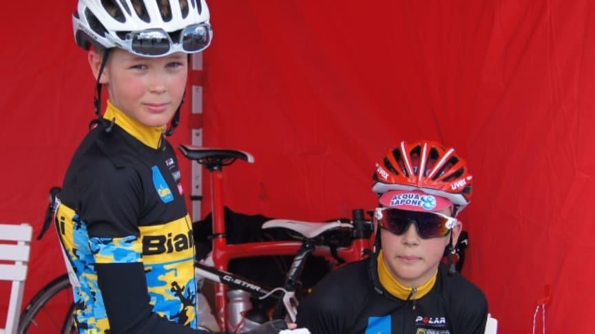 Team Polar: Oskari ja Otto 111km jälkeen